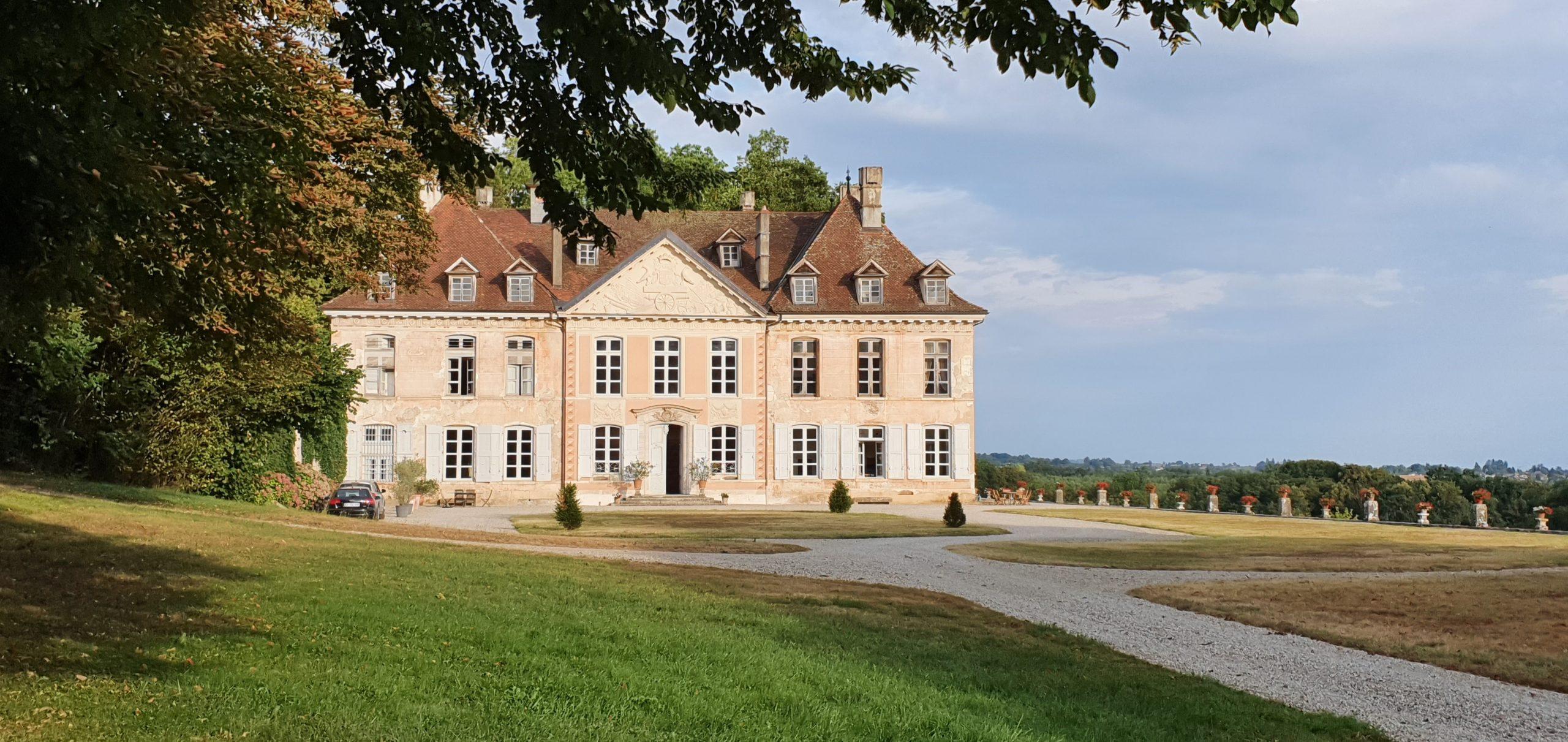Extérieur du Château de Vaulserre