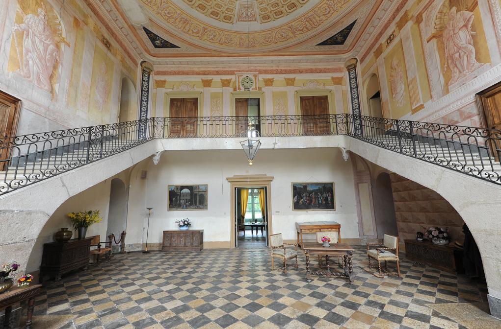 Hall d'entrée du Château de Vaulserre