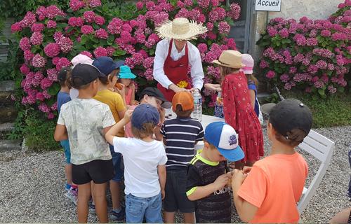 Visites du Château de Vaulserre pour les enfants